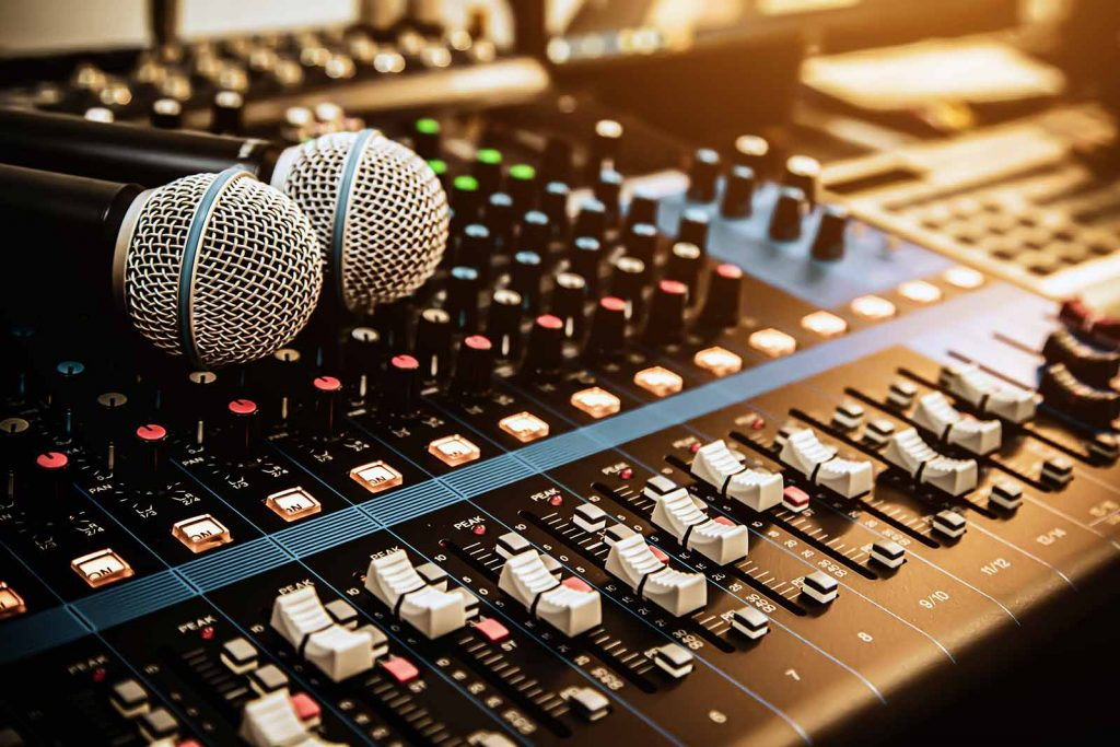 PA Equipment for Singers