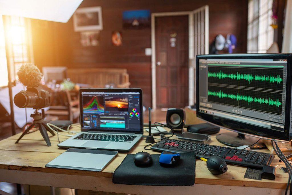 Upload music online