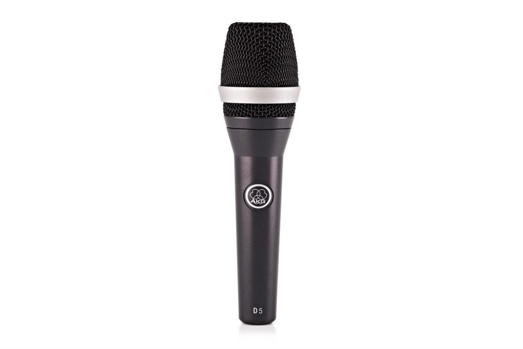 AKG D5 - Best budget microphone for live vocals
