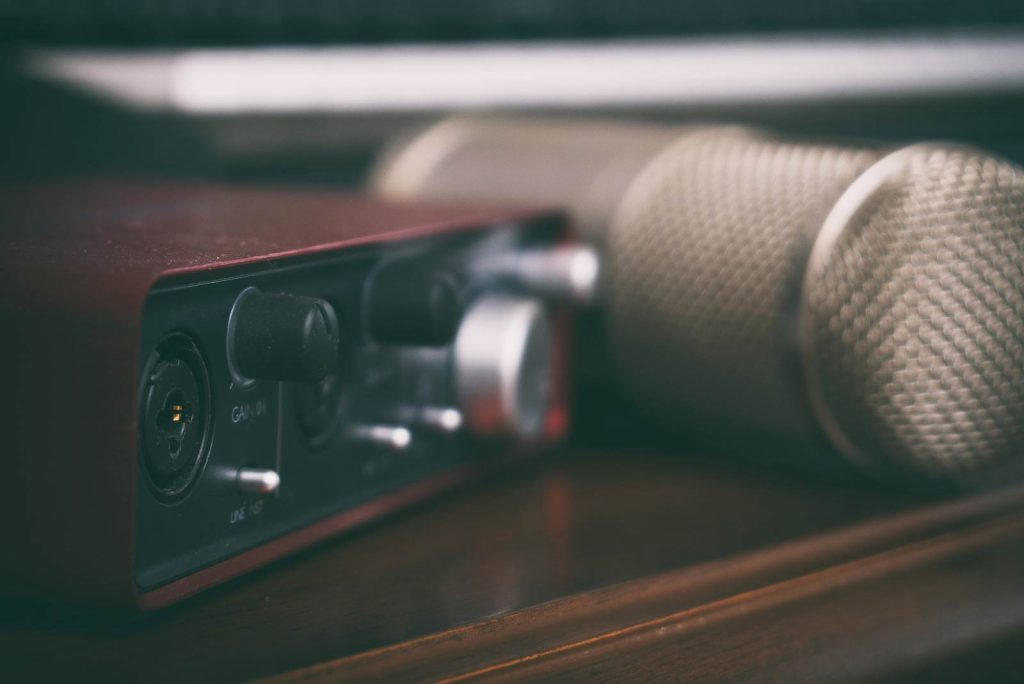 home studio microphone